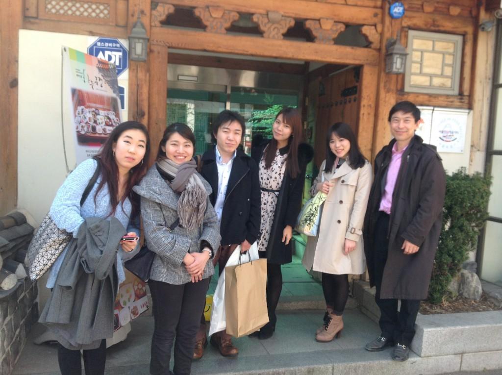 日韓ピアノ 学生との交流